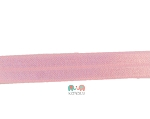 Pink Fold Over Elastic Solid FOE 5/8