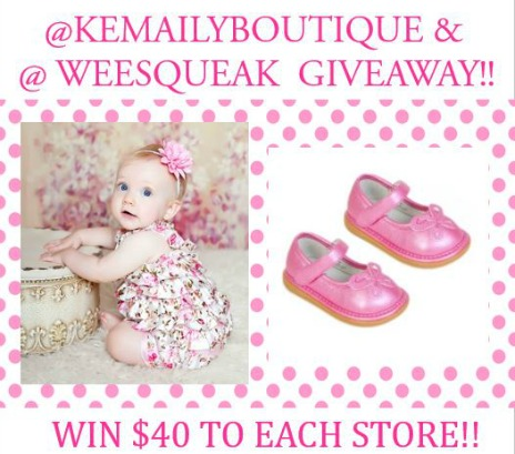Kemaily and Wee Squeak Giveaway