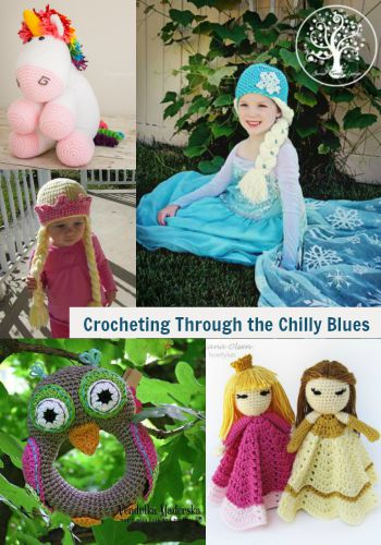 Crocheting Through the Chilly Blues
