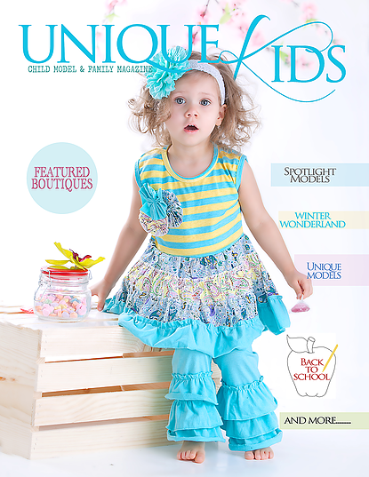 Kemaily Unique Kids Magazine Feature