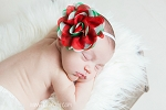 Adeline Holiday Baby Headband
