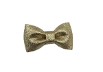 Metallic Gold Glitter Bow