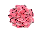 Neon Hot Pink Chiffon Shabby Chic Frayed Chiffon Flower (COPY)
