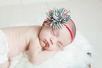 Noelle Holiday Baby Headband