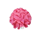 Satin Puff Rolled Rosette Flowers