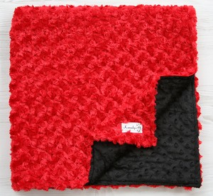 Firefighter Double Minky Blanket From Kemaily