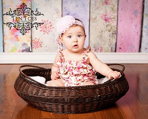 Sofie Flower Baby Headband